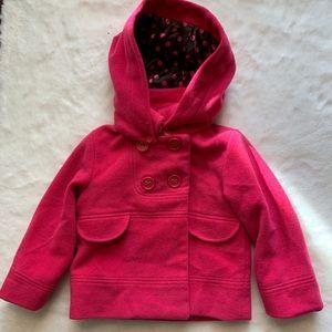 Pink Joe Fresh Pea coat